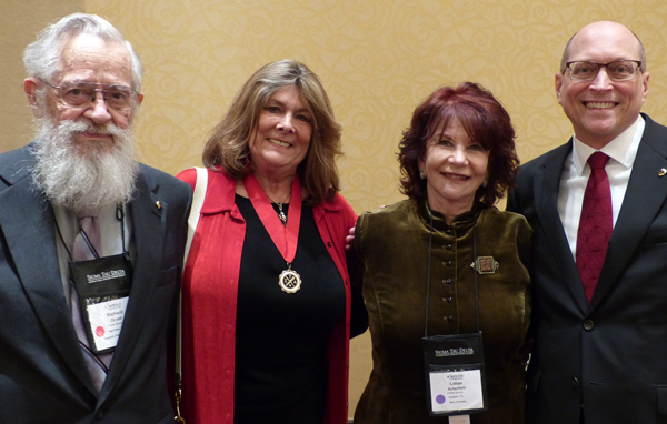 Past Delta Award recipients at the 2015 Convention
